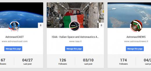 Le pagine Google+ di ISAA