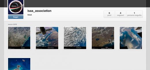 L'account di ISAA su instagram