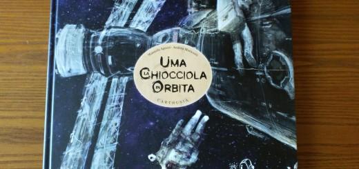 Il libro Uma la Chiocciola in Orbita di Manuela Aguzzi e Andrea Mariconti. Credit: Paolo Amoroso