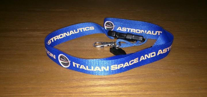 Collare portabadge dell'Associazione ISAA. Credit: Paolo Amoroso